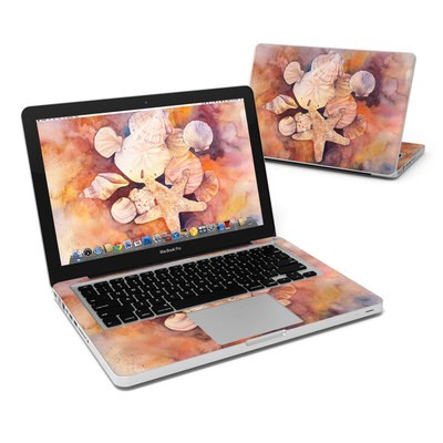 MacBook Pro 13in Skin - Sea Shells