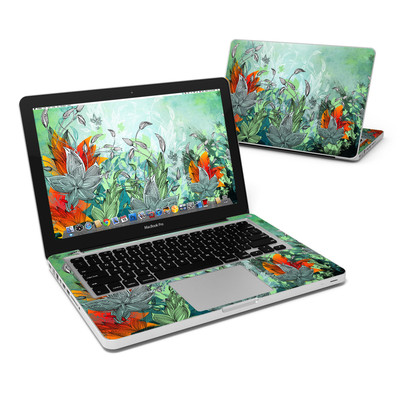MacBook Pro 13in Skin - Sea Flora