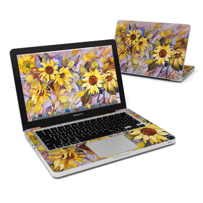 MacBook Pro 13in Skin - Sunflower
