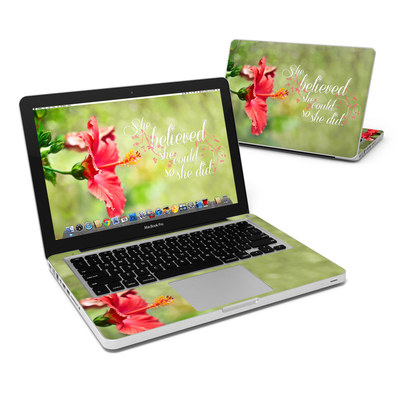 MacBook Pro 13in Skin - She Believed
