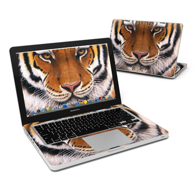 MacBook Pro 13in Skin - Siberian Tiger