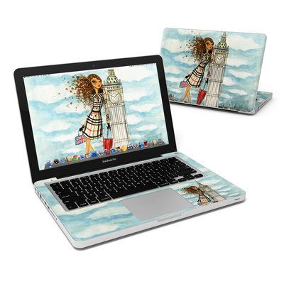 MacBook Pro 13in Skin - The Sights London
