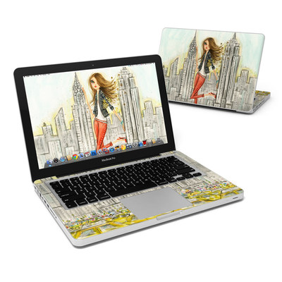 MacBook Pro 13in Skin - The Sights New York