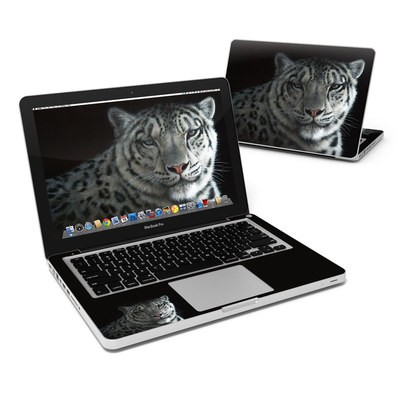 MacBook Pro 13in Skin - Silver Shadows