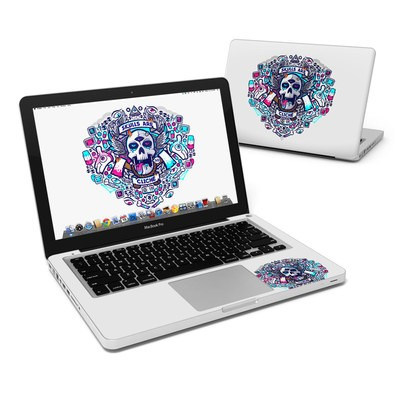 MacBook Pro 13in Skin - Skulls Are Cliche