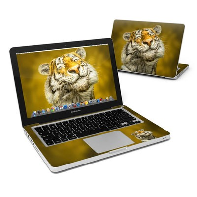MacBook Pro 13in Skin - Smiling Tiger