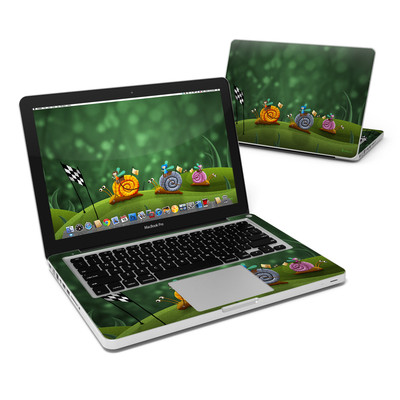 MacBook Pro 13in Skin - Snail Race
