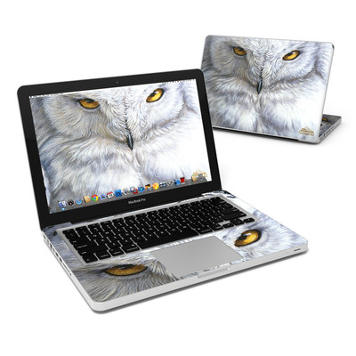 MacBook Pro 13in Skin - Snowy Owl