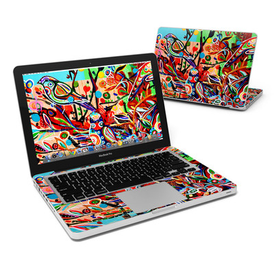 MacBook Pro 13in Skin - Spring Birds