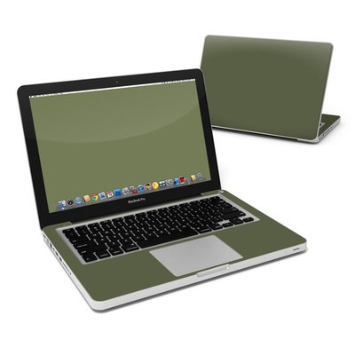 MacBook Pro 13in Skin - Solid State Olive Drab