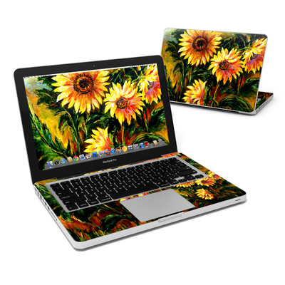 MacBook Pro 13in Skin - Sunflower Sunshine
