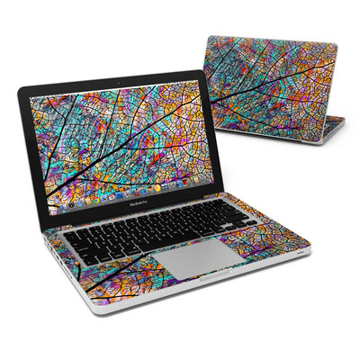 MacBook Pro 13in Skin - Stained Aspen