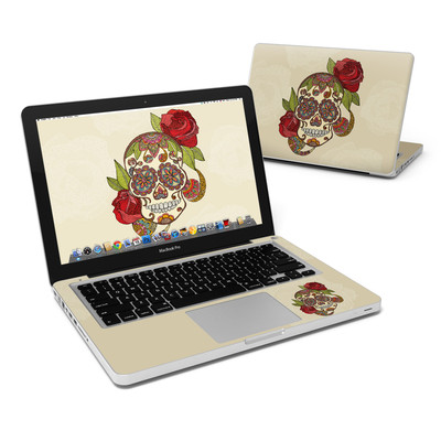 MacBook Pro 13in Skin - Sugar Skull
