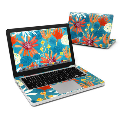 MacBook Pro 13in Skin - Sunbaked Blooms