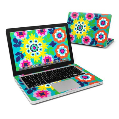 MacBook Pro 13in Skin - Susani Sun