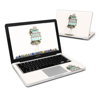 MacBook Pro 13in Skin - She Takes The Cake