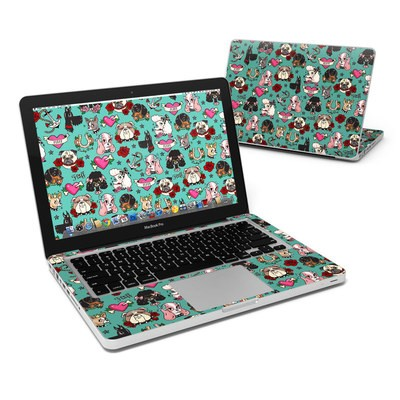 MacBook Pro 13in Skin - Tattoo Dogs