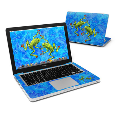 MacBook Pro 13in Skin - Tiger Frogs