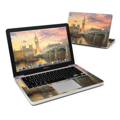 MacBook Pro 13in Skin - Thomas Kinkades London