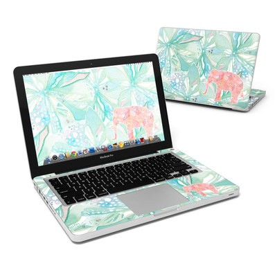 MacBook Pro 13in Skin - Tropical Elephant
