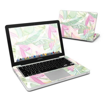 MacBook Pro 13in Skin - Tropical Leaves