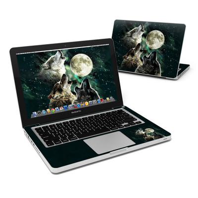 MacBook Pro 13in Skin - Three Wolf Moon