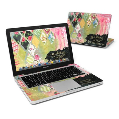MacBook Pro 13in Skin - Unlearn