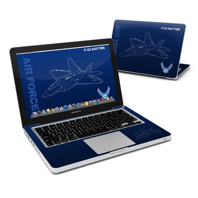 MacBook Pro 13in Skin - F-22 Raptor