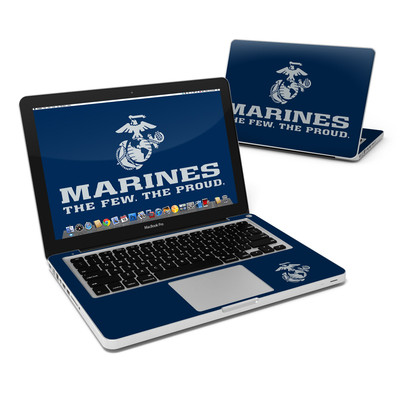MacBook Pro 13in Skin - USMC Blue