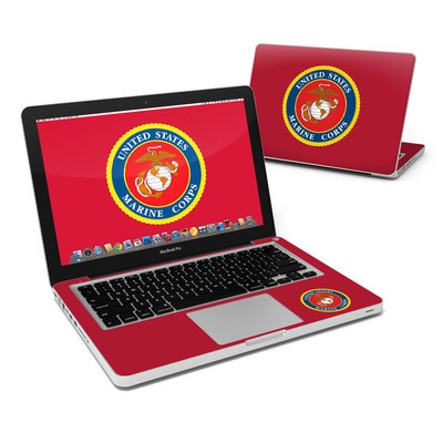 MacBook Pro 13in Skin - USMC Red