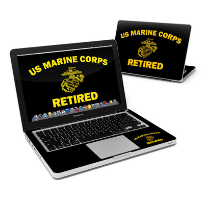 MacBook Pro 13in Skin - USMC Retired