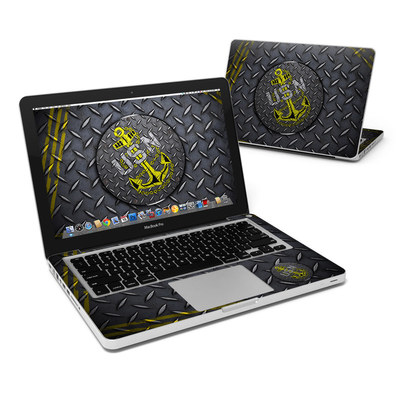 MacBook Pro 13in Skin - USN Diamond Plate