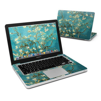 MacBook Pro 13in Skin - Blossoming Almond Tree