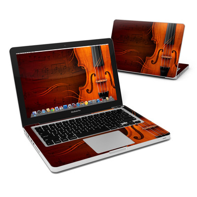 MacBook Pro 13in Skin - Violin