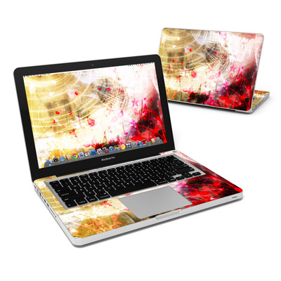 MacBook Pro 13in Skin - Woodflower