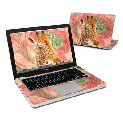 MacBook Pro 13in Skin - Whimsical Giraffe