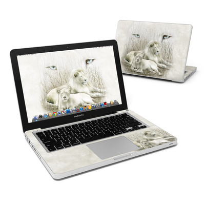 MacBook Pro 13in Skin - White Lion