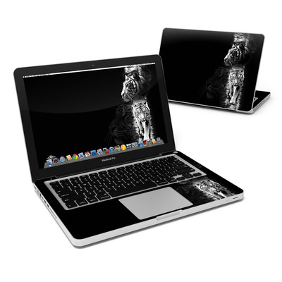 MacBook Pro 13in Skin - White Tiger