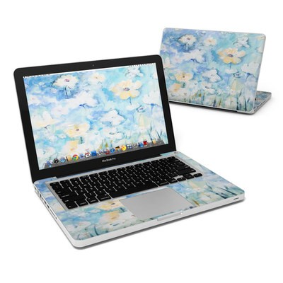 MacBook Pro 13in Skin - White & Blue