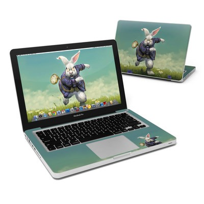 MacBook Pro 13in Skin - White Rabbit