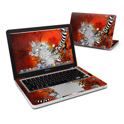 MacBook Pro 13in Skin - Wild Lilly