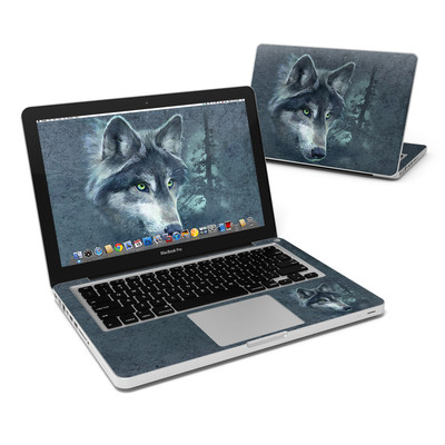 MacBook Pro 13in Skin - Wolf Reflection