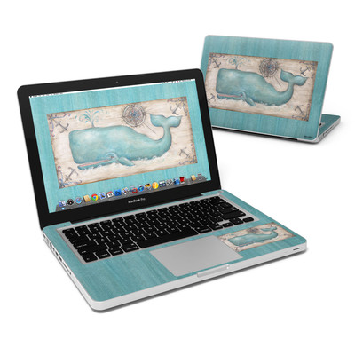 MacBook Pro 13in Skin - Whale Watch