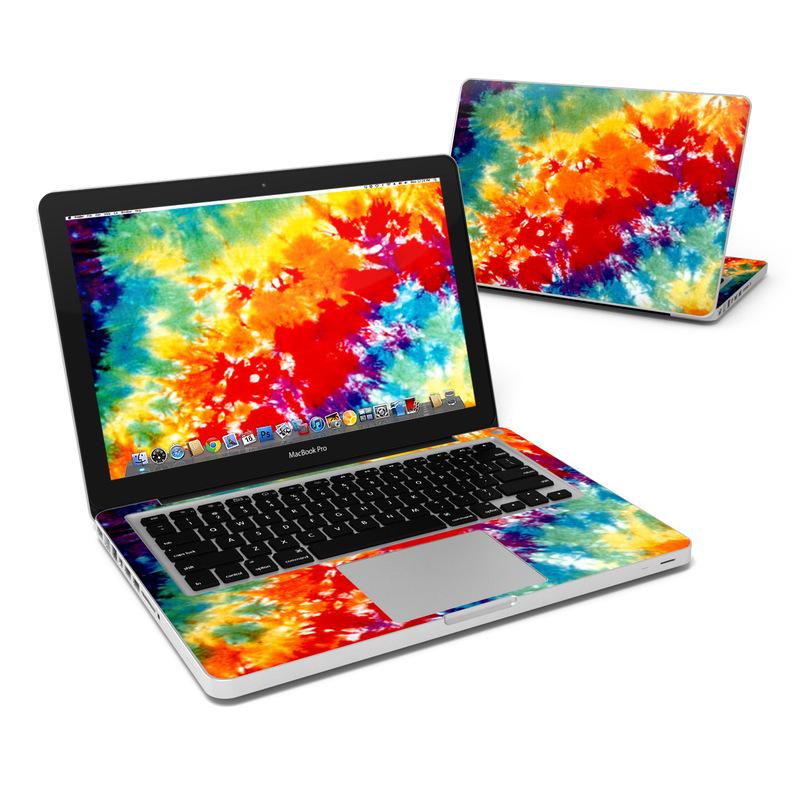 buy popular 481a7 8e997 MacBook Pro 13in Skin - Tie Dyed