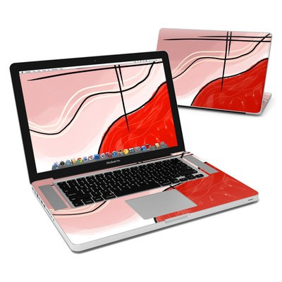 MacBook Pro 15in Skin - Abstract Red
