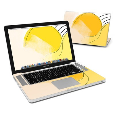 MacBook Pro 15in Skin - Abstract Yellow