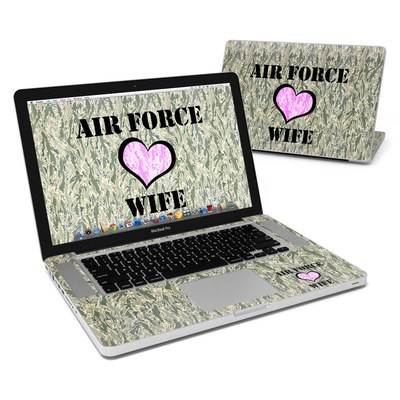 MacBook Pro 15in Skin - Air Force Wife