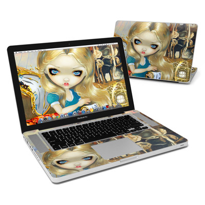 MacBook Pro 15in Skin - Alice in a Dali Dream