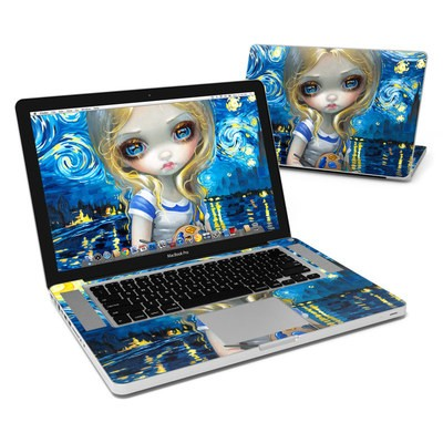 MacBook Pro 15in Skin - Alice in a Van Gogh