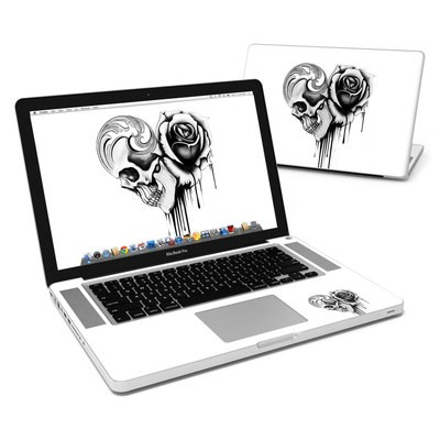 MacBook Pro 15in Skin - Amour Noir